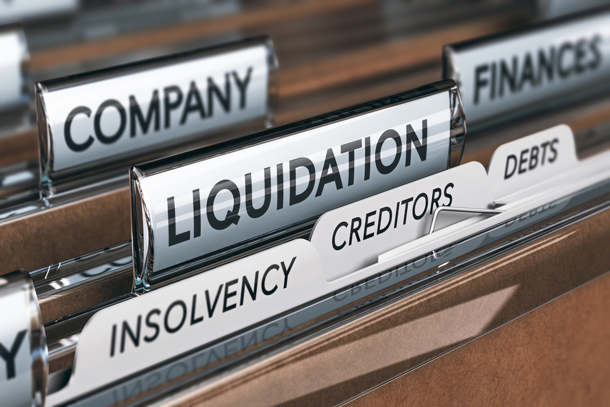 Corporate insolvencies up 63% in June 2021