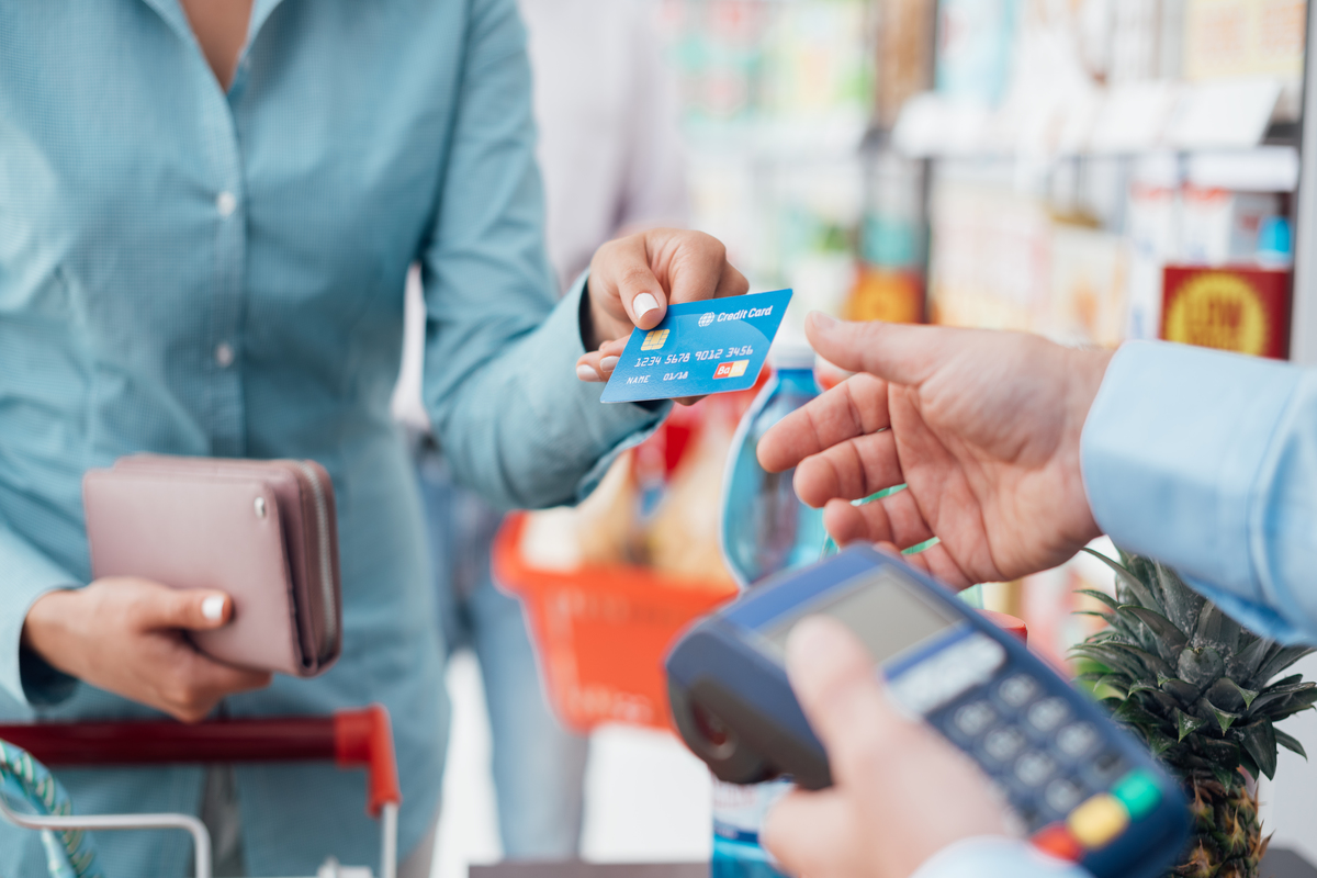 Consumer credit card spending above 2019 levels